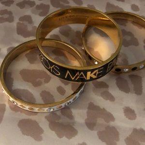 3 gorgeous Kate Spade ♠️ bracelets